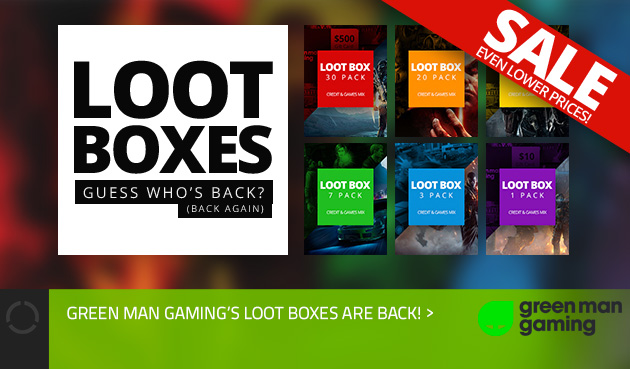 Loot Boxes on Green Man Gaming