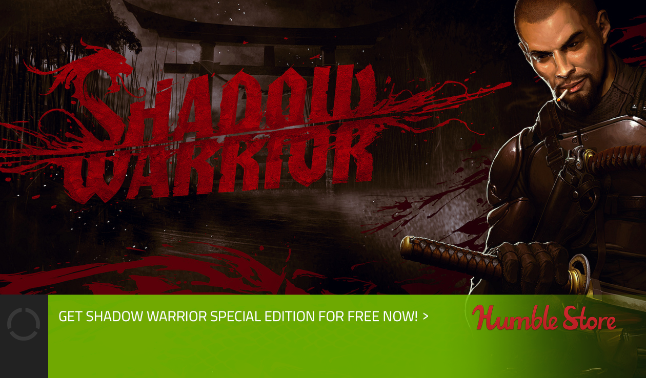 Shadow Warrior Special Edition is FREE!
