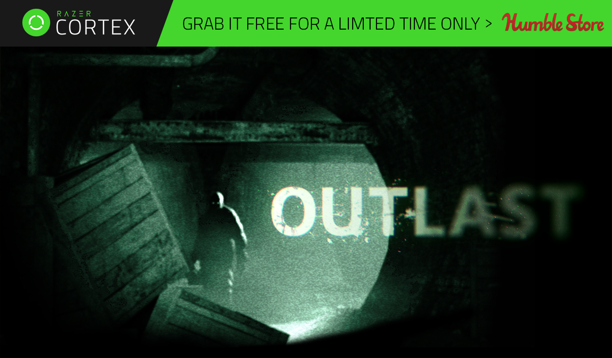 Don't fancy sleeping? Grab Outlast + Whistleblower DLC for Free!