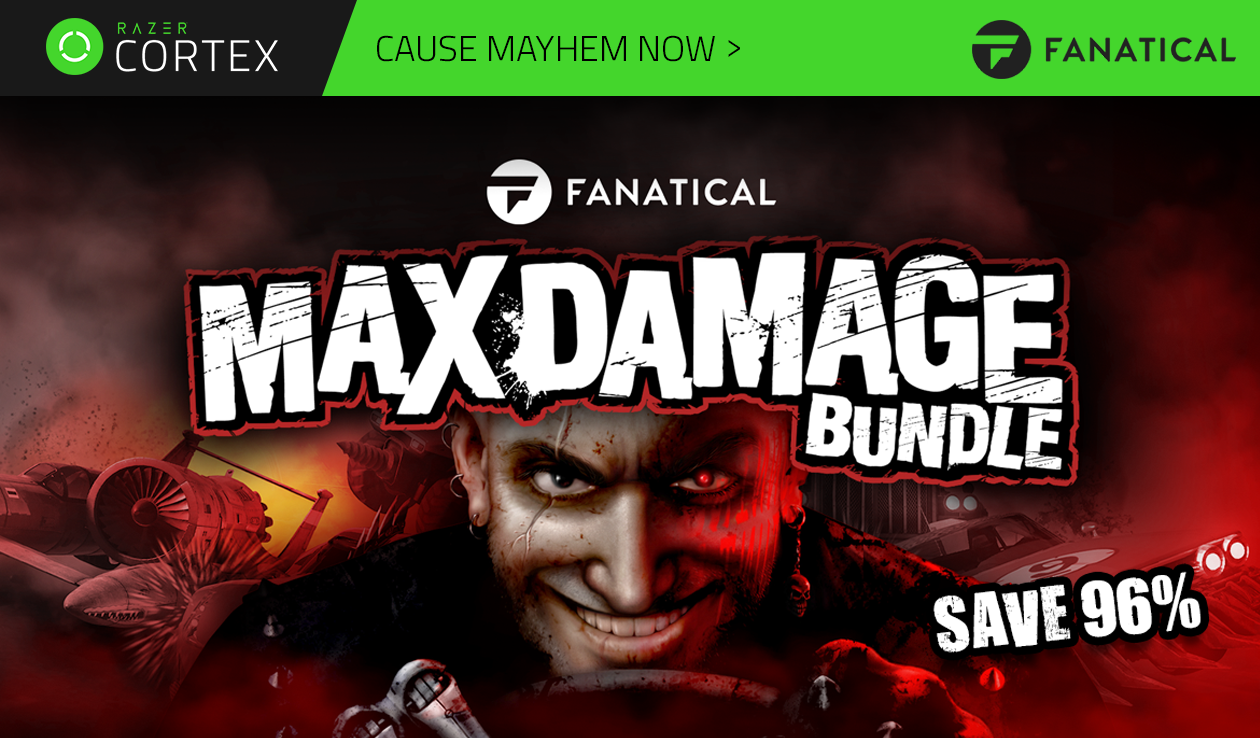 The Max Damage Bundle from Fanatical is now here!