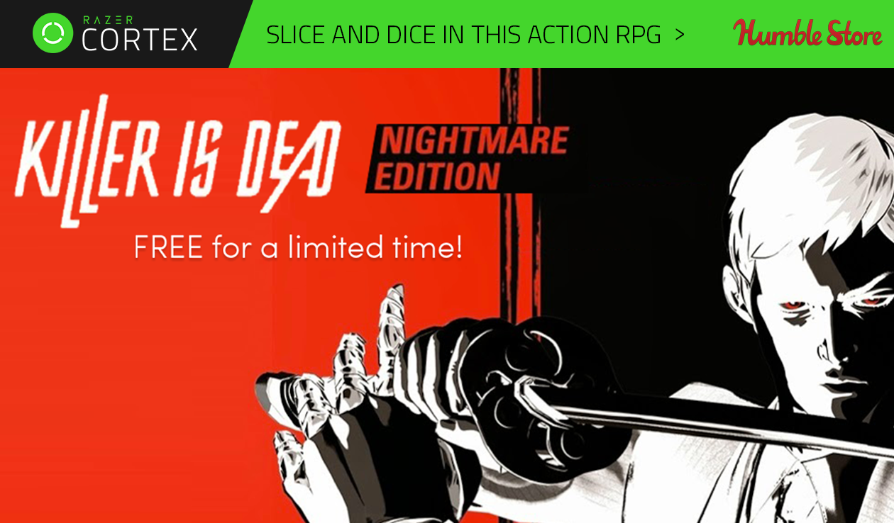Killer Is Dead is FREE for a limited time only!