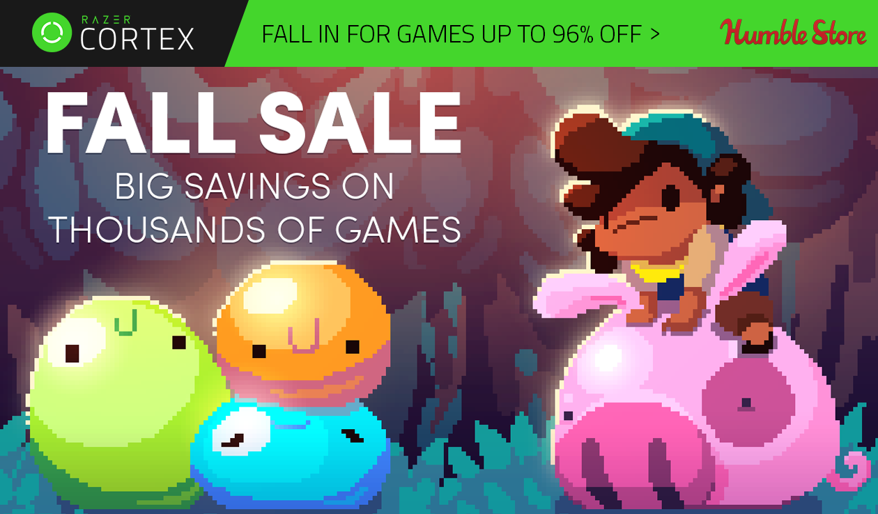 The Humble Bundle Fall Sale is Now On!