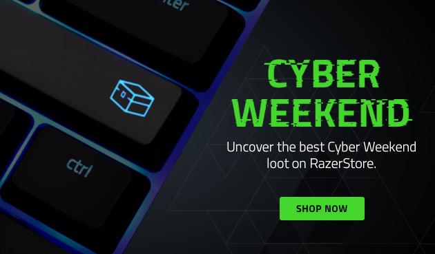 Razer CyberWeekend is now on!