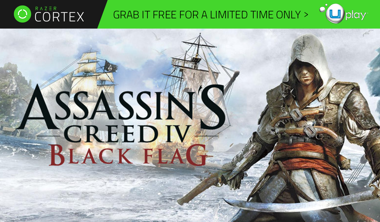 Grab Assassin's Creed Black Flag for FREE!