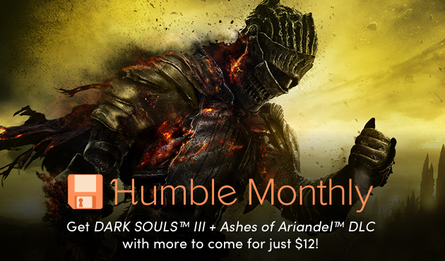 DARK SOULS III + Ashes of Ariandel DLC for $12