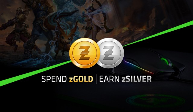 Spend zGold Earn zSilver